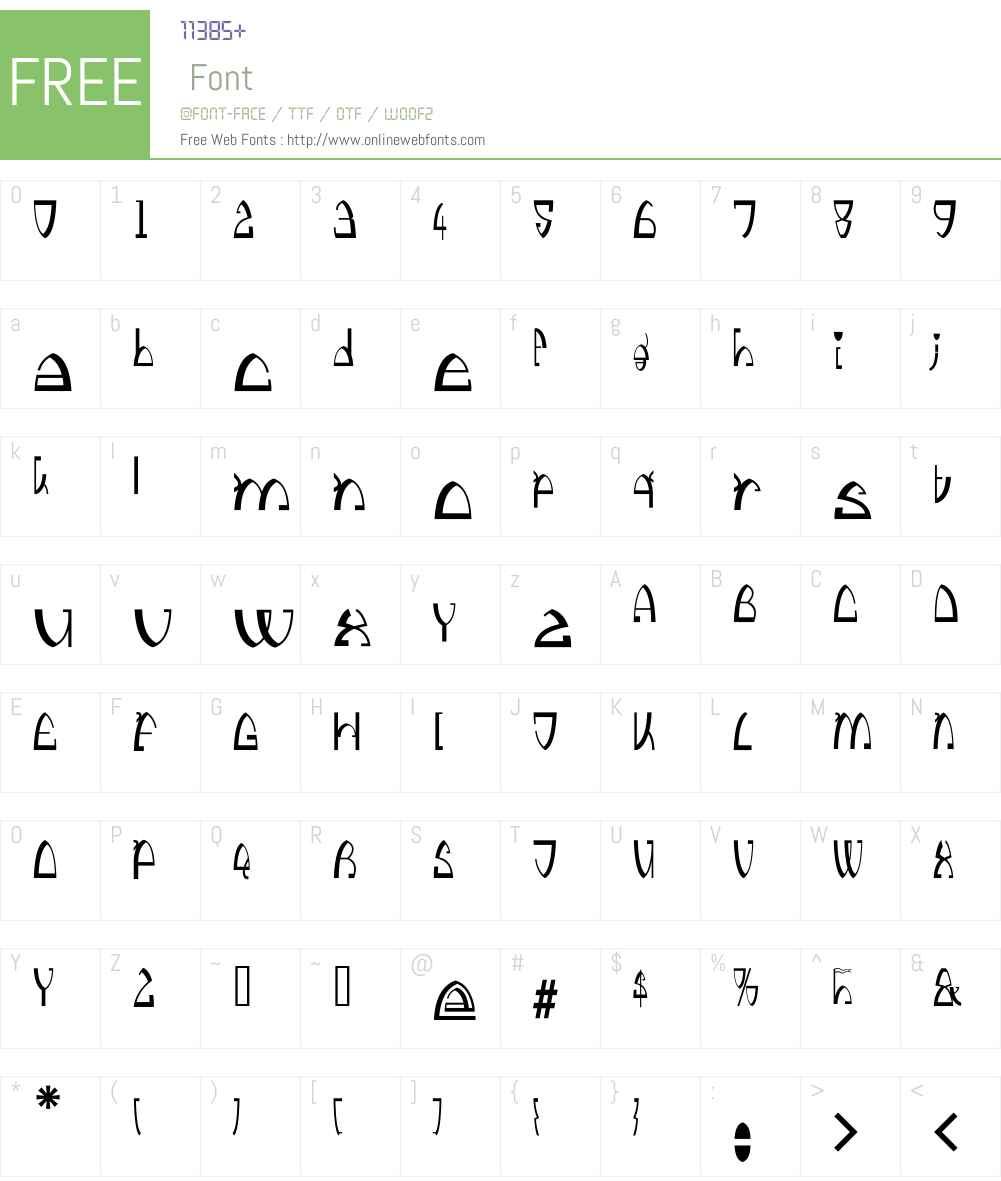 Kingthings Stirrup Font Screenshots