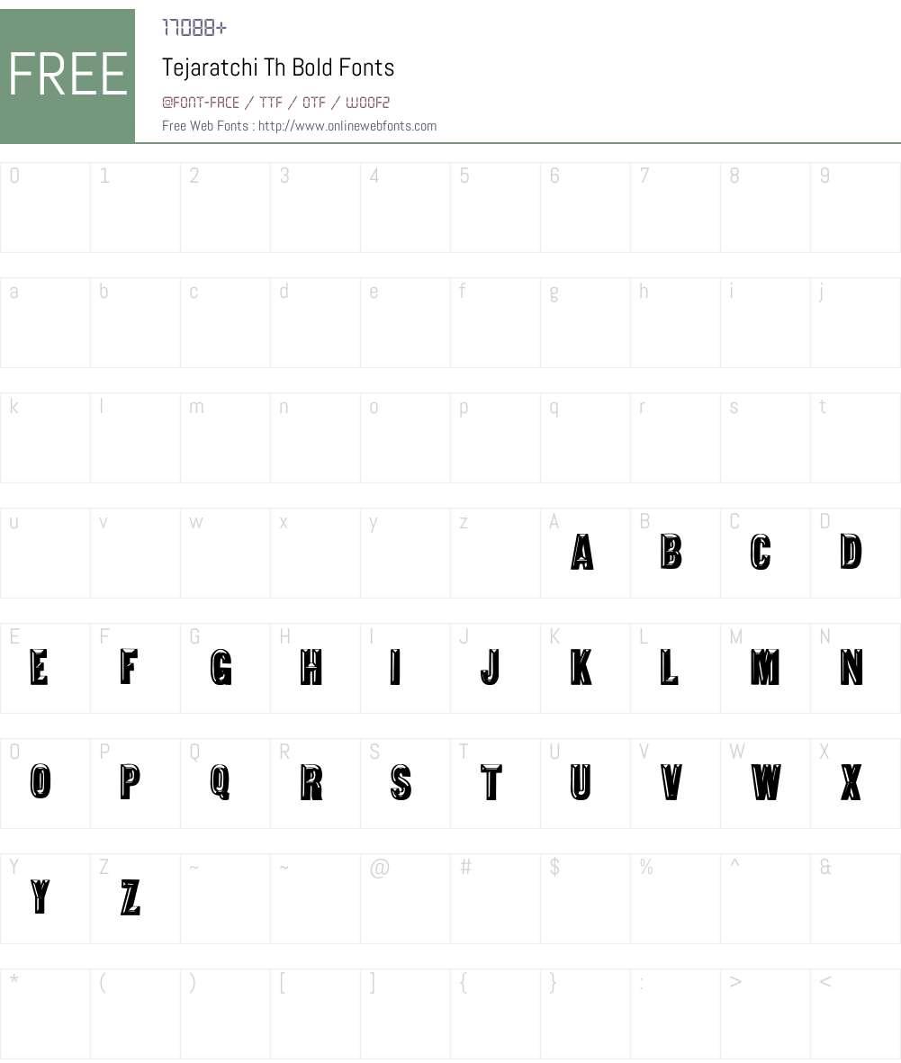 Tejaratchi Th bold Font Screenshots
