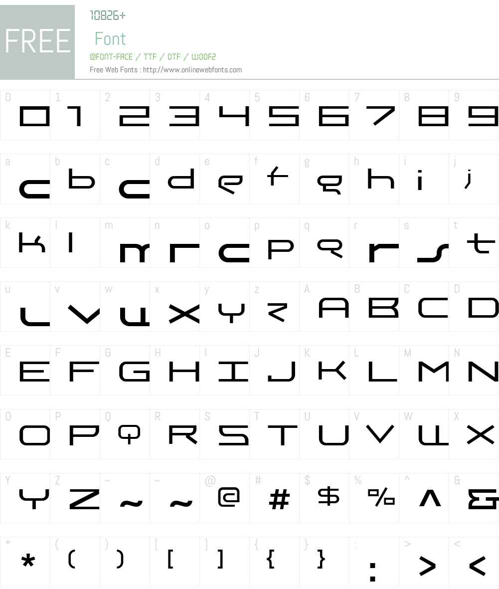 TheMeezW01-Regular Font Screenshots