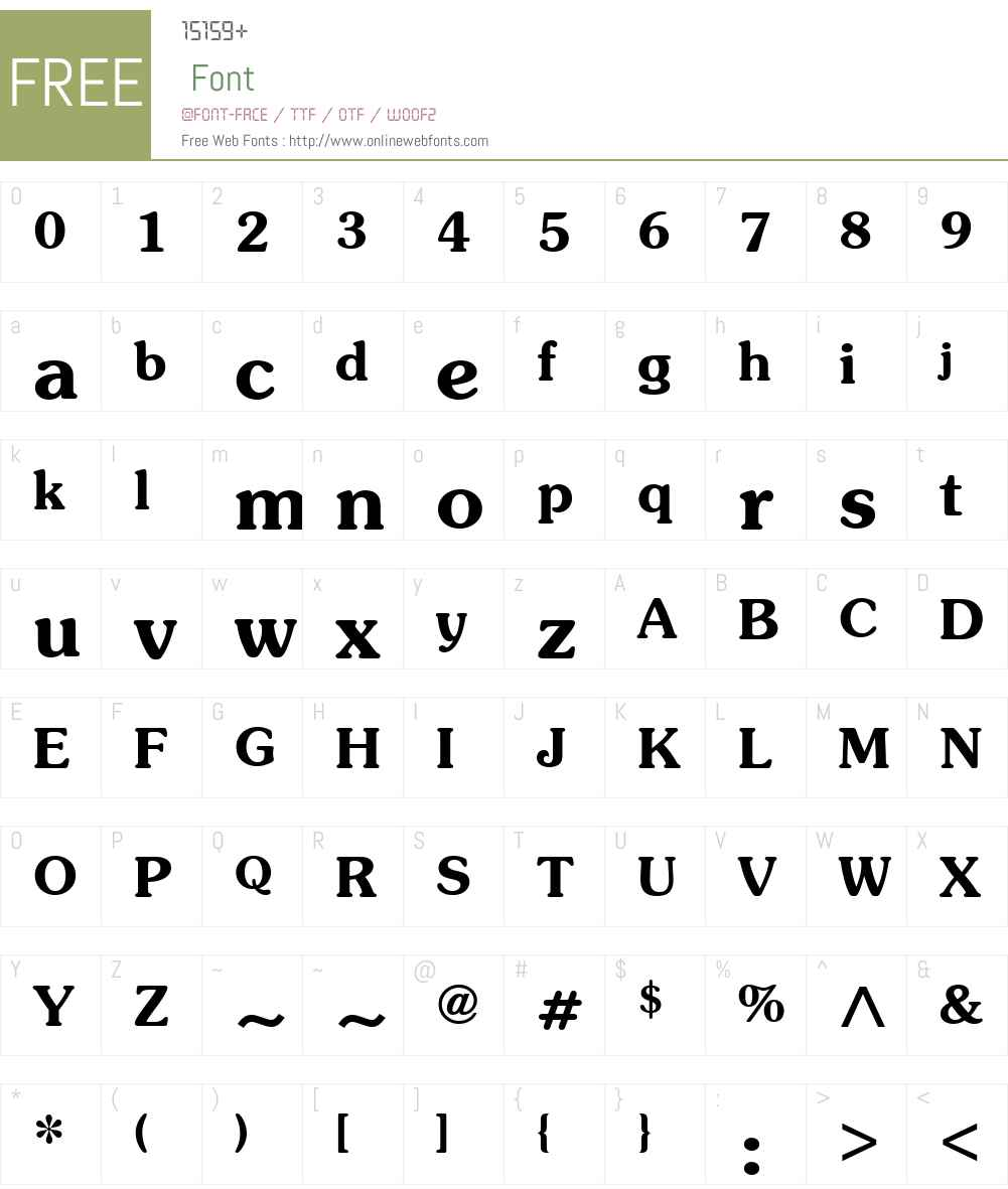 ITCSouvenirW01-Demi Font Screenshots