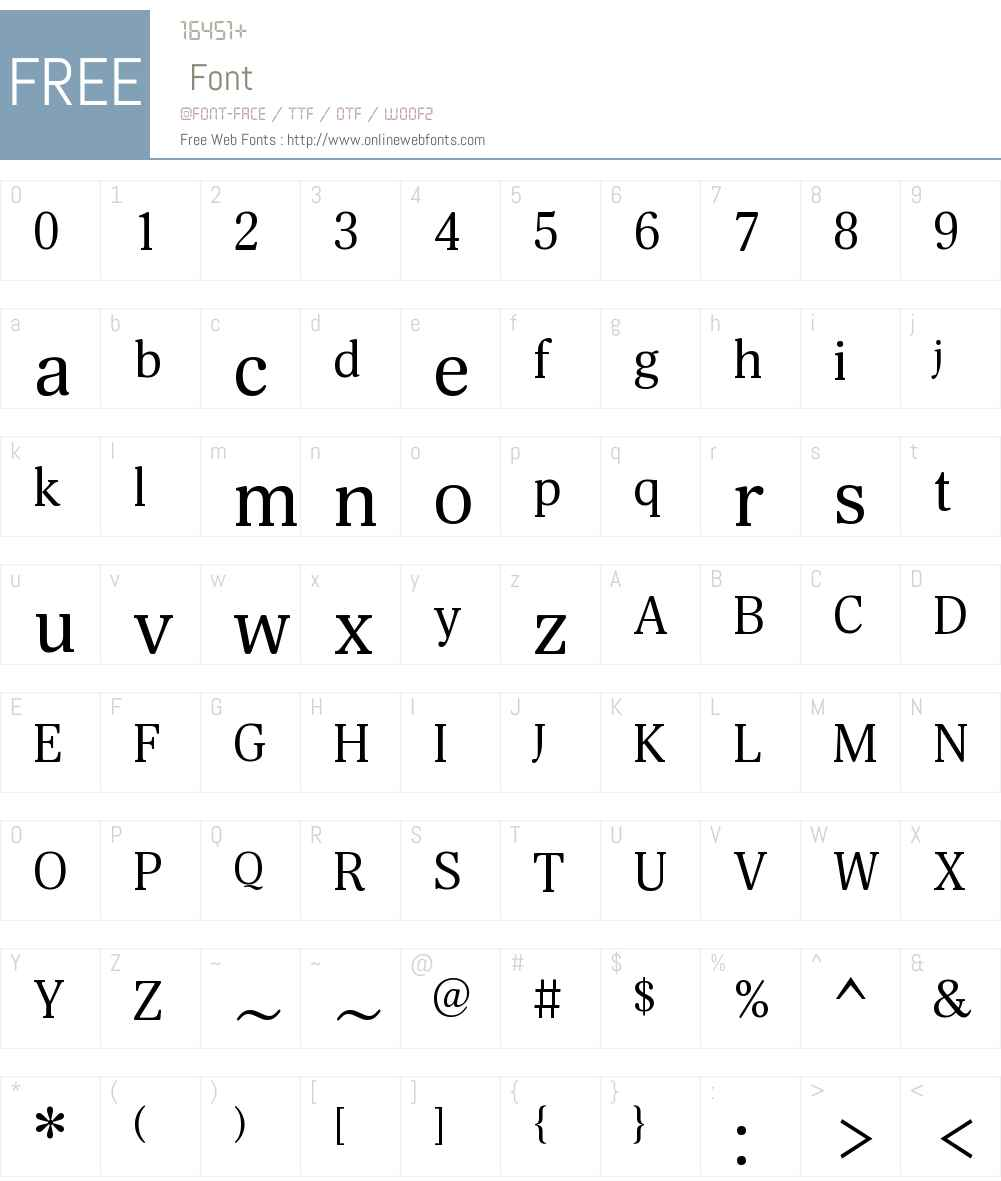 Margon360W08-Regular Font Screenshots