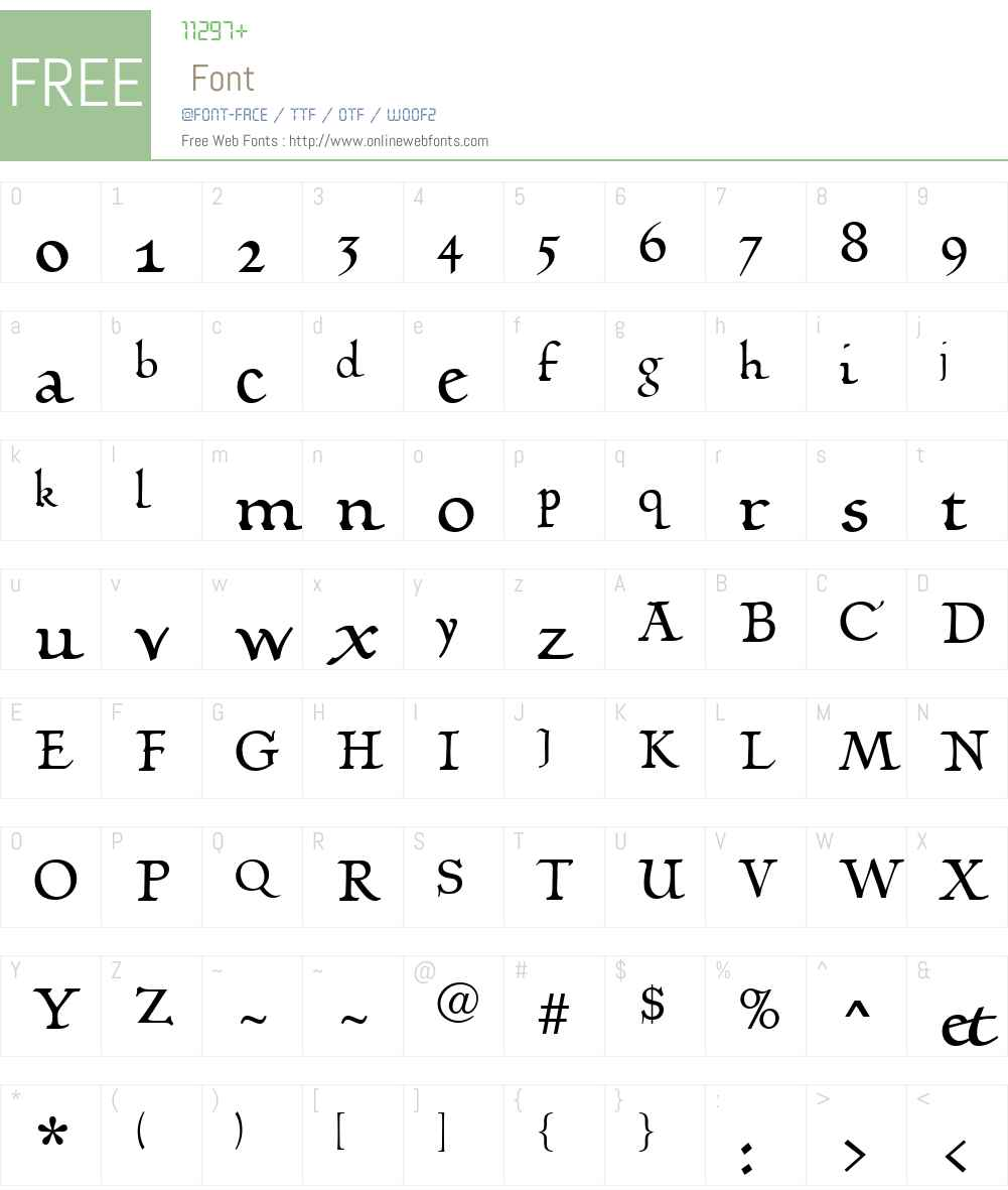 LinotypeHumanistikaW01 Font Screenshots