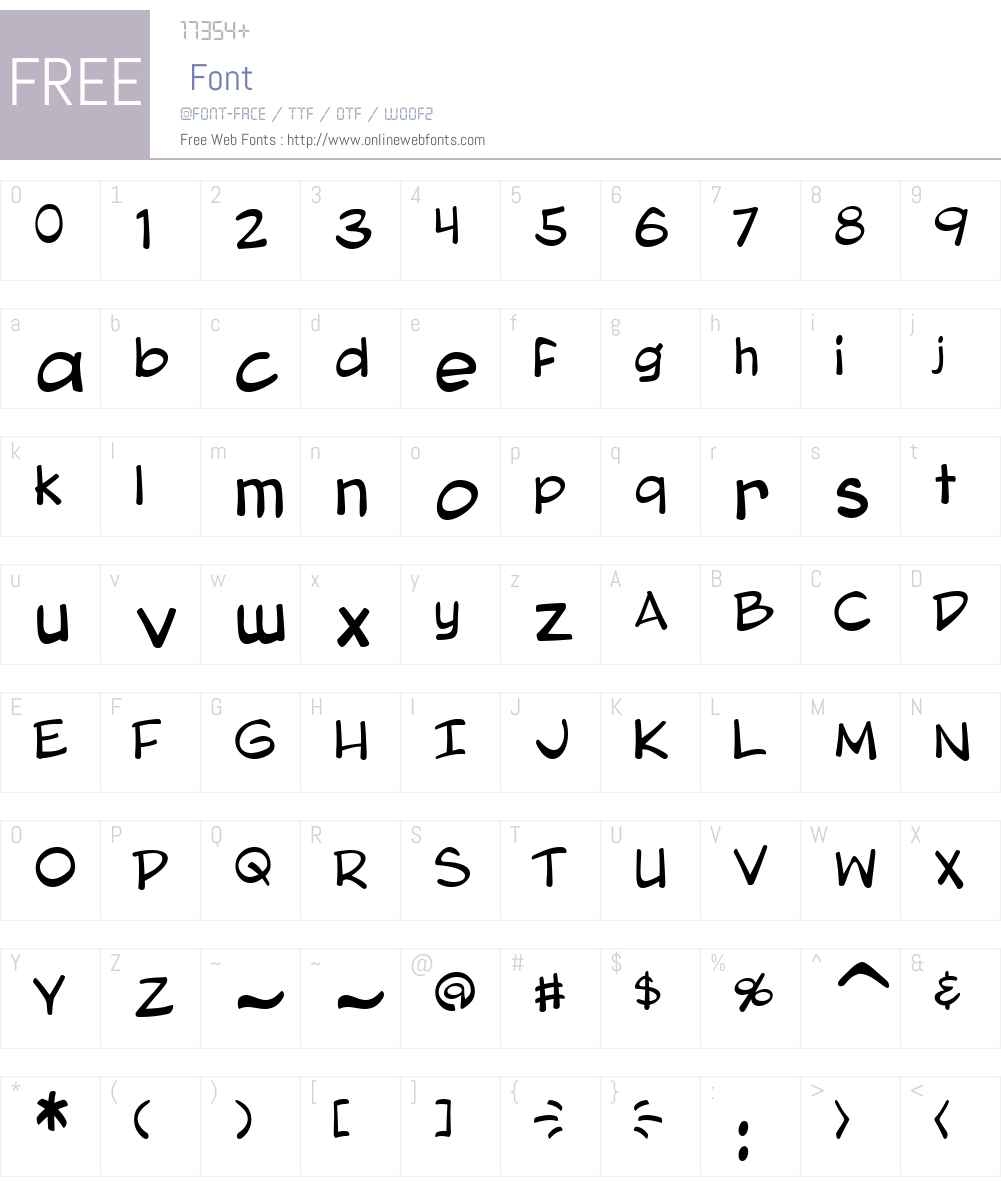Blambot Pro Lite Font Screenshots