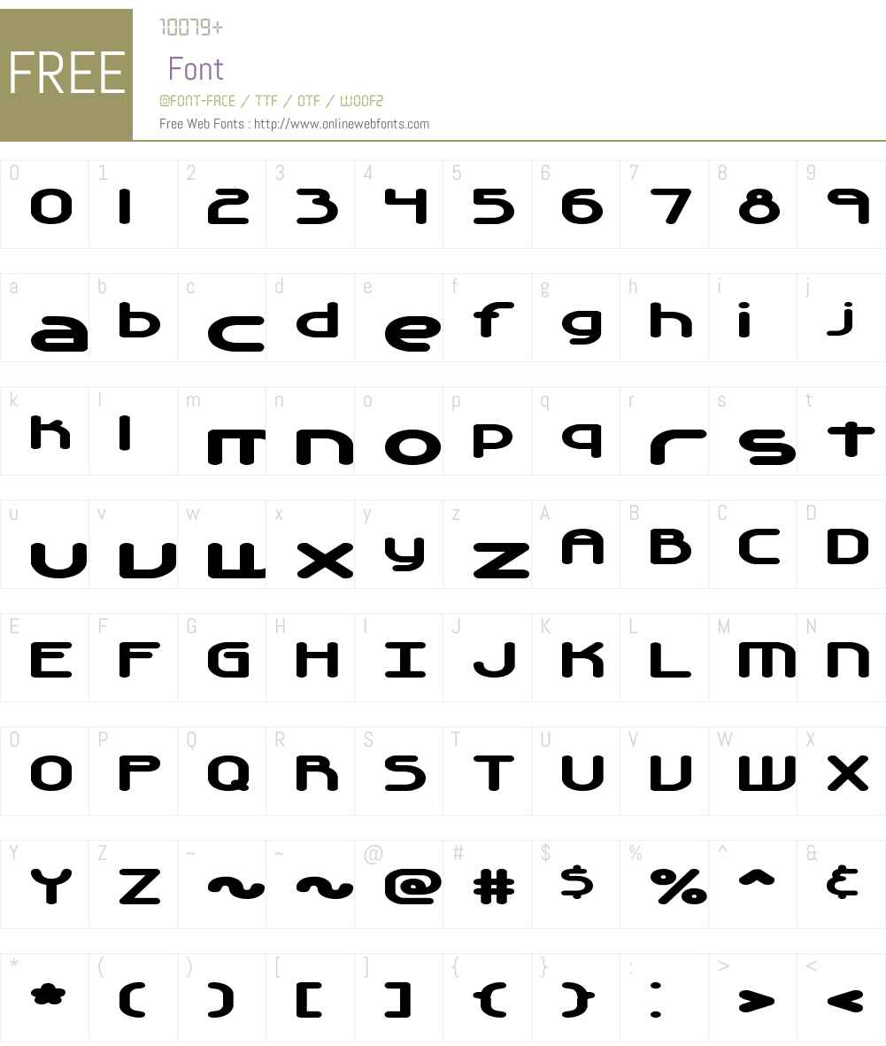 Automatica BRK Font Screenshots