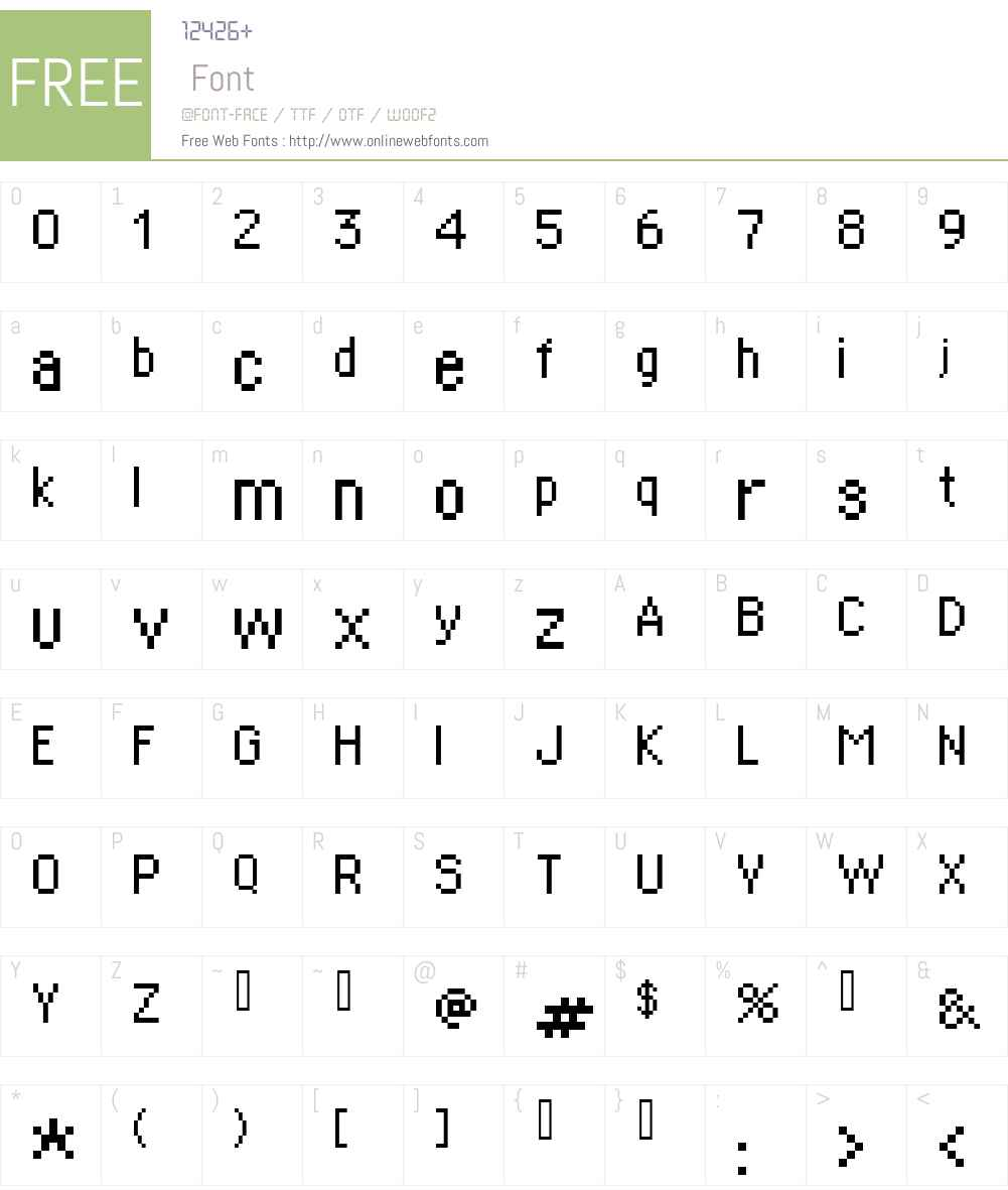supertext Font Screenshots
