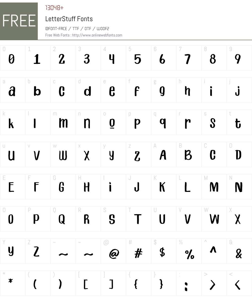 Primera Font Screenshots