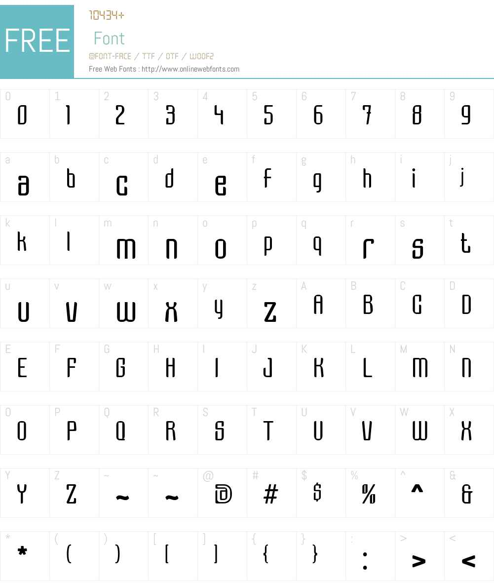 Grage Font Screenshots