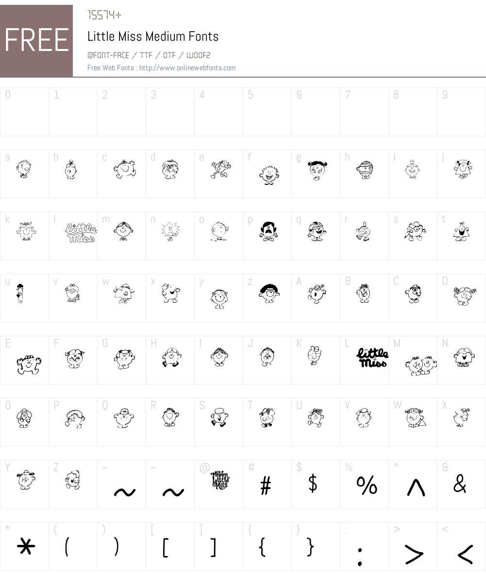 Kiddiefonts Font Screenshots