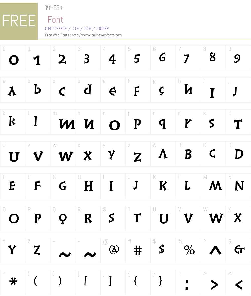 Linotype Syntax Lapidar Serif Text Font Screenshots