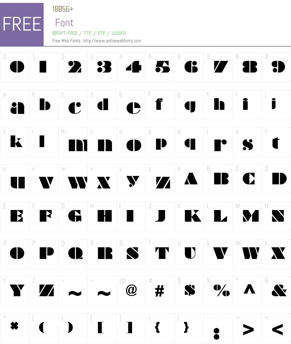 Braggadocio MT Font Screenshots