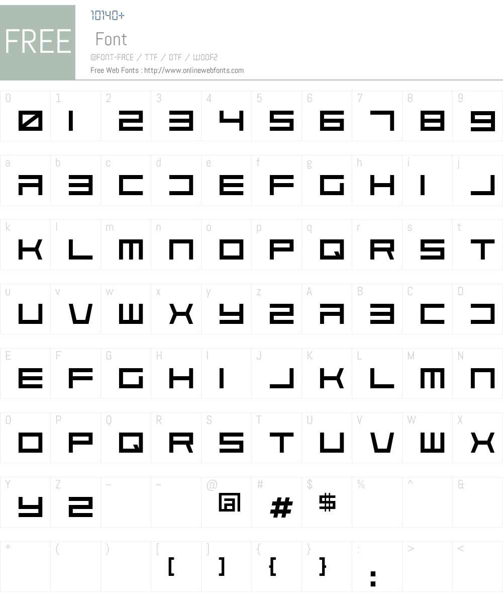 Solaria Font Screenshots