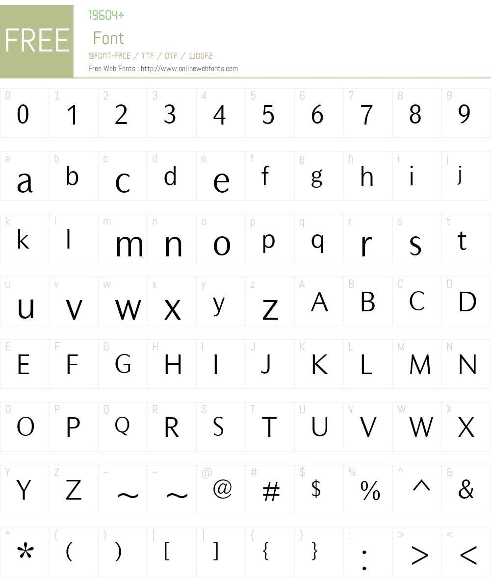 MahsuriSansMTW01-Light Font Screenshots
