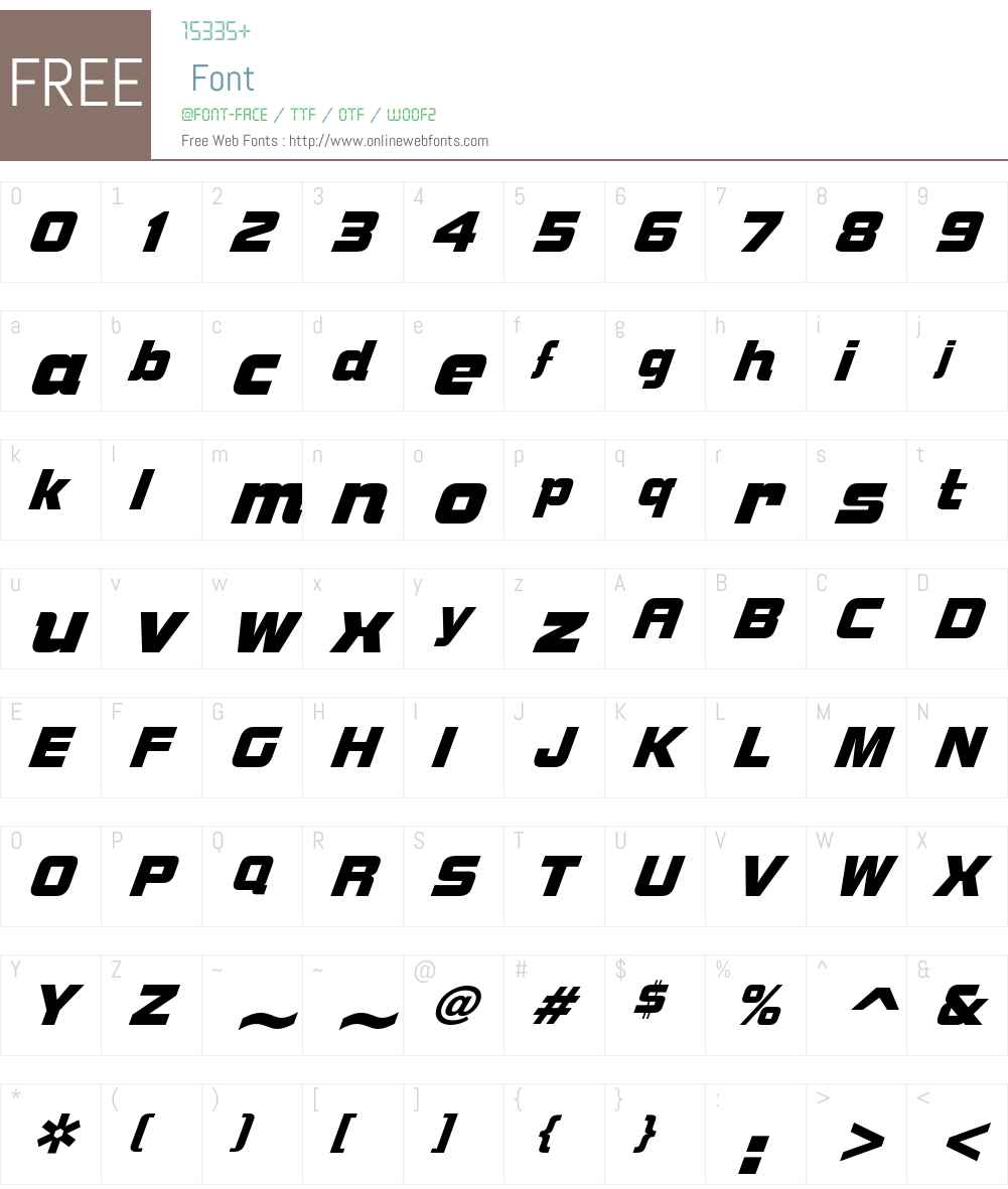 SuperMother Font Screenshots