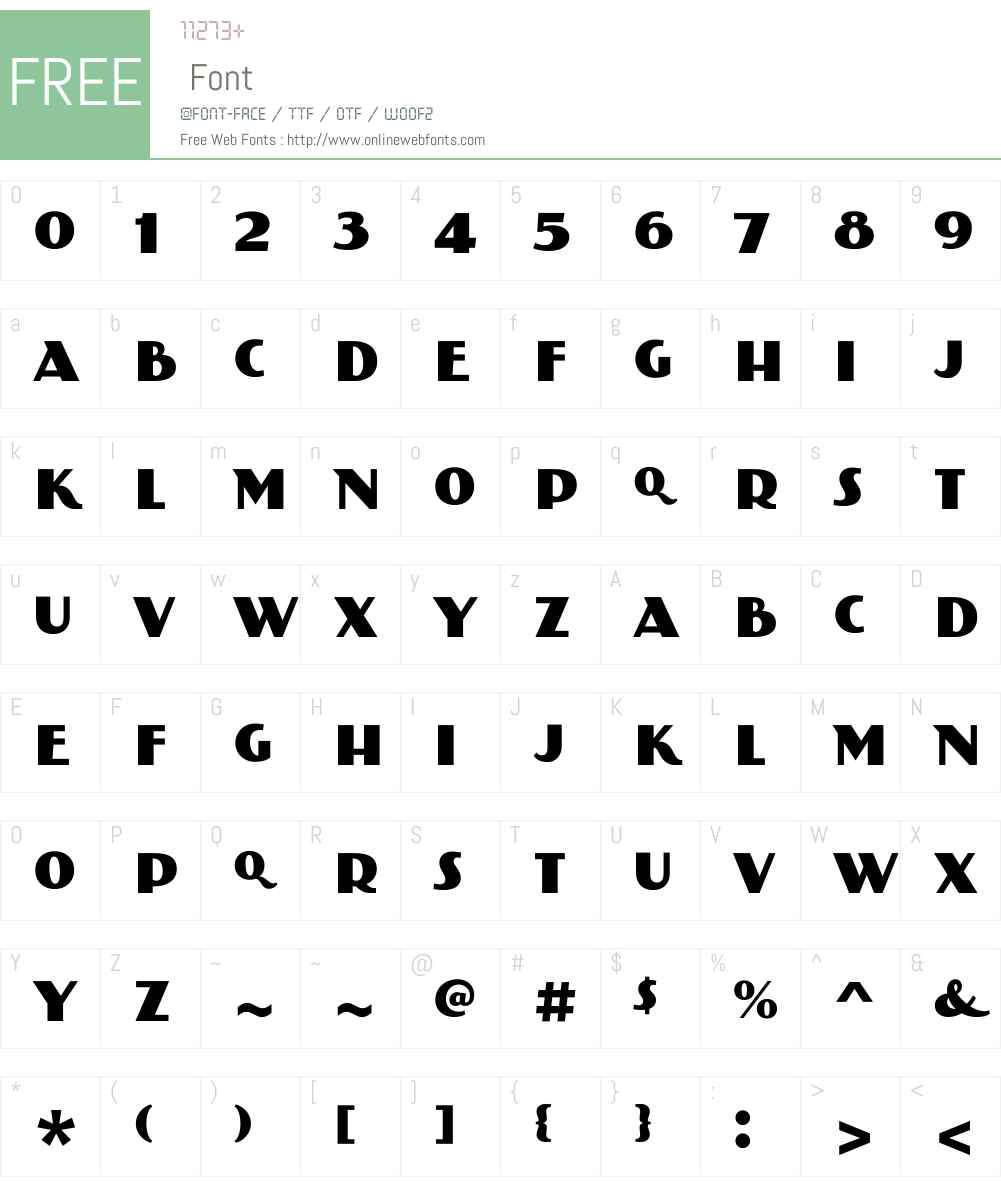 PAGBankasW00-Regular Font Screenshots