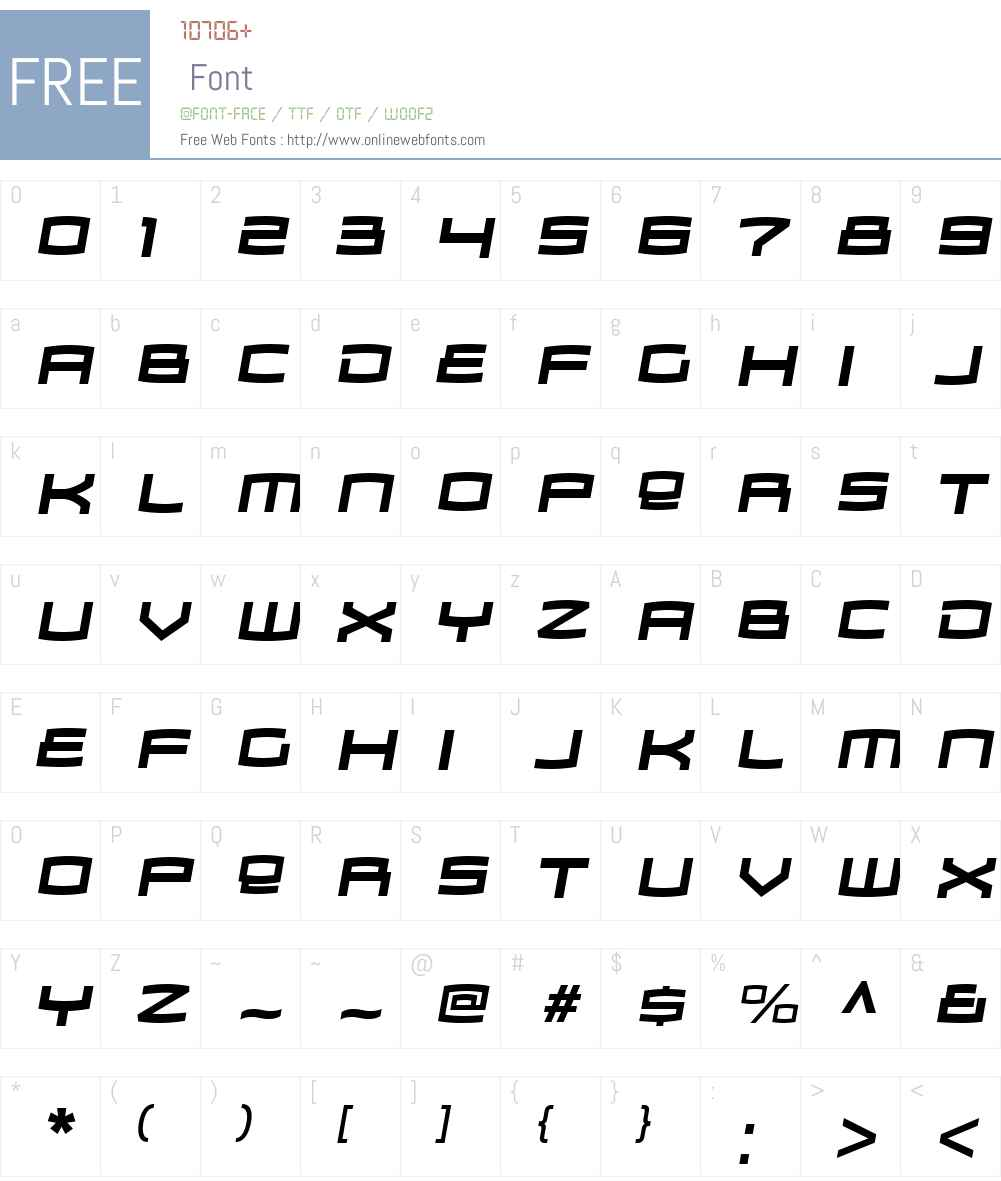 ZosmaW00-BoldItalic Font Screenshots