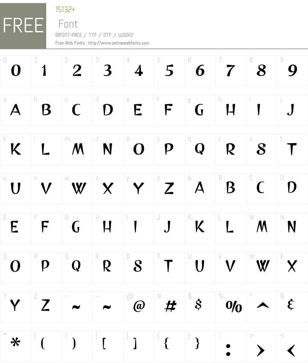 No.SevenSmallCapsW00-Rg Font Screenshots