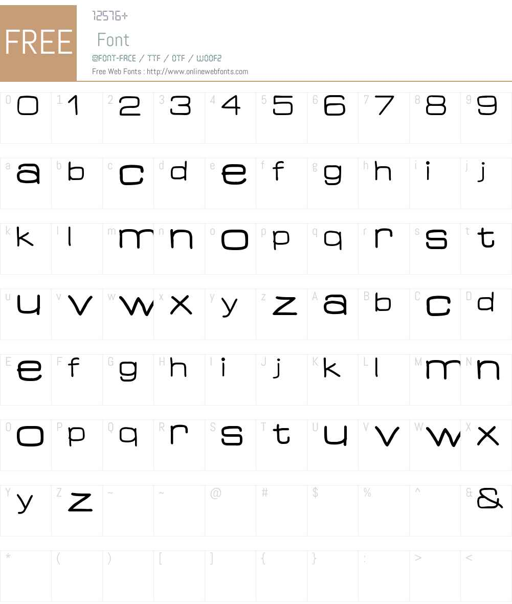 Guess What. Font Screenshots