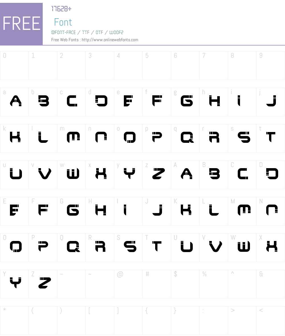 Maya Culpa Font Screenshots