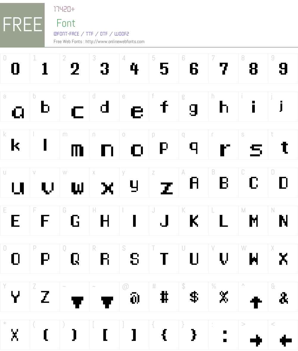 Manaspace Font Screenshots