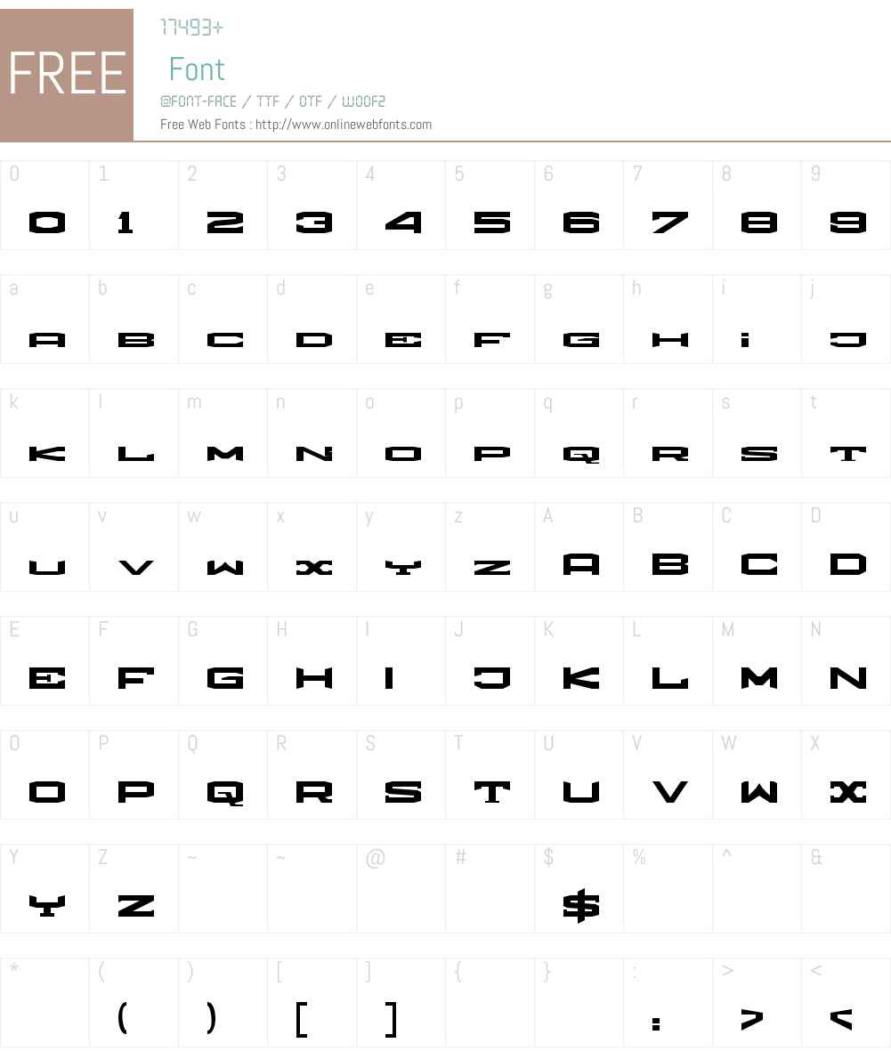 weronika Font Screenshots