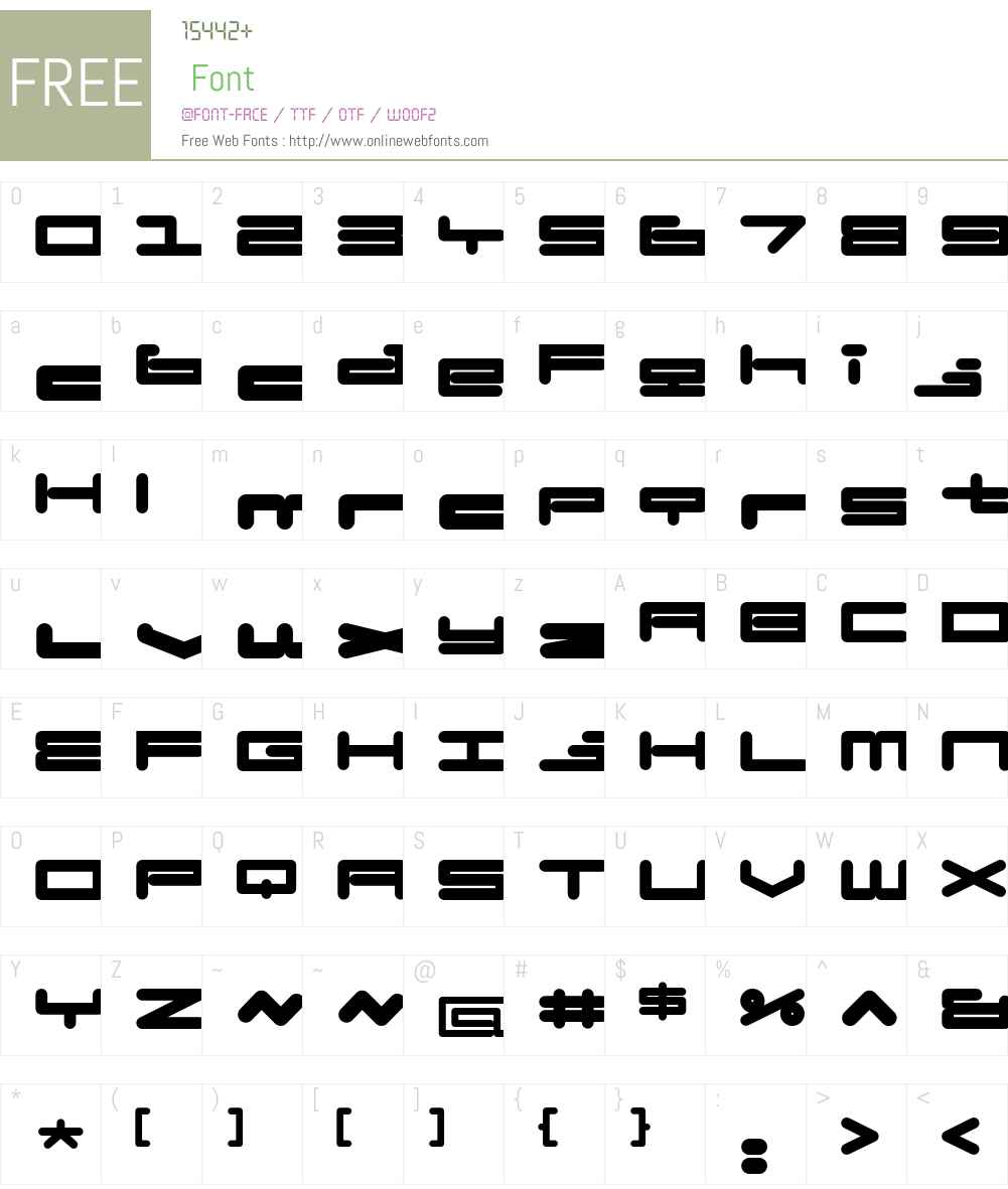 BadExcuse Font Screenshots