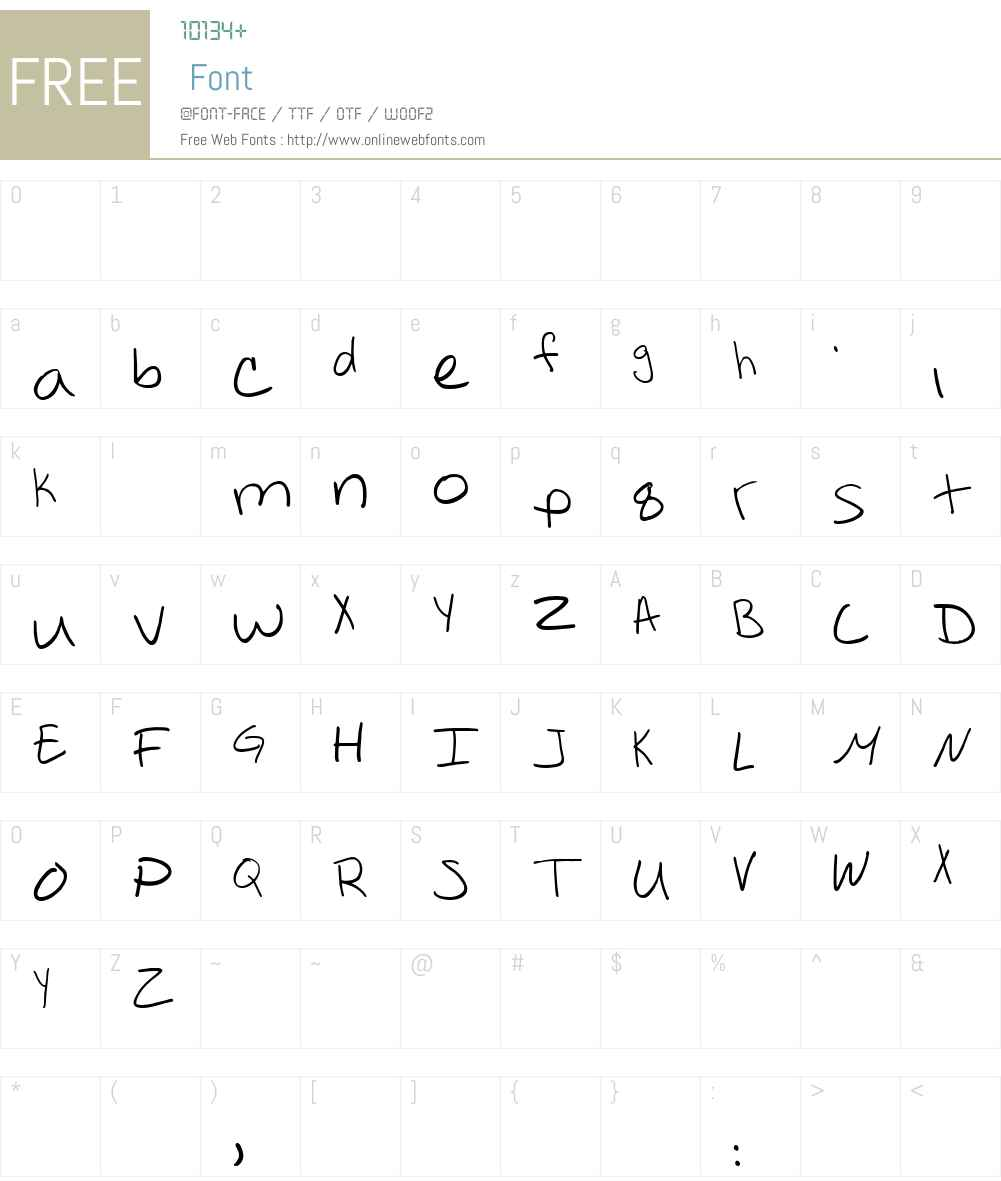 maydogg Font Screenshots