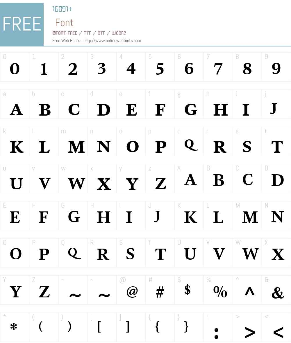 HT Ashbury Font Screenshots