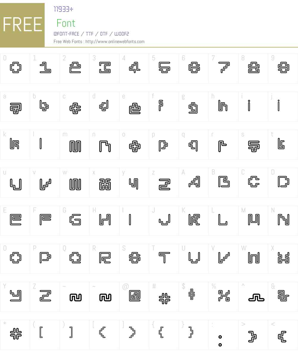 Silesia Font Screenshots