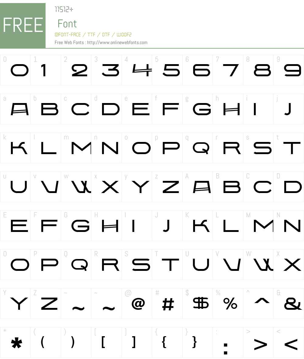 BabaevC Font Screenshots