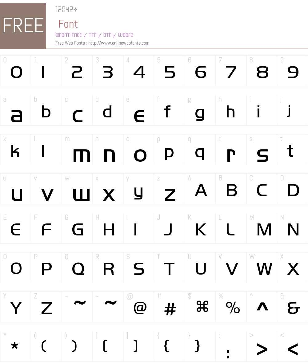 iYaHei Font Screenshots