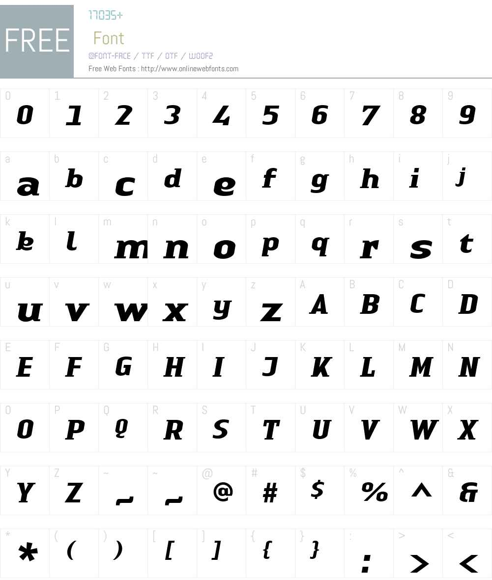 Linotype Authentic Small Serif Font Screenshots