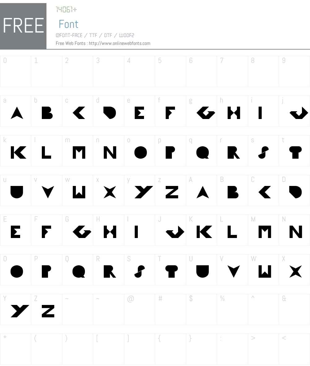 FLIGHT STERWADESS Font Screenshots