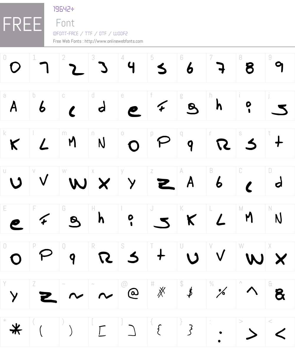 Tomas Massu Font Screenshots