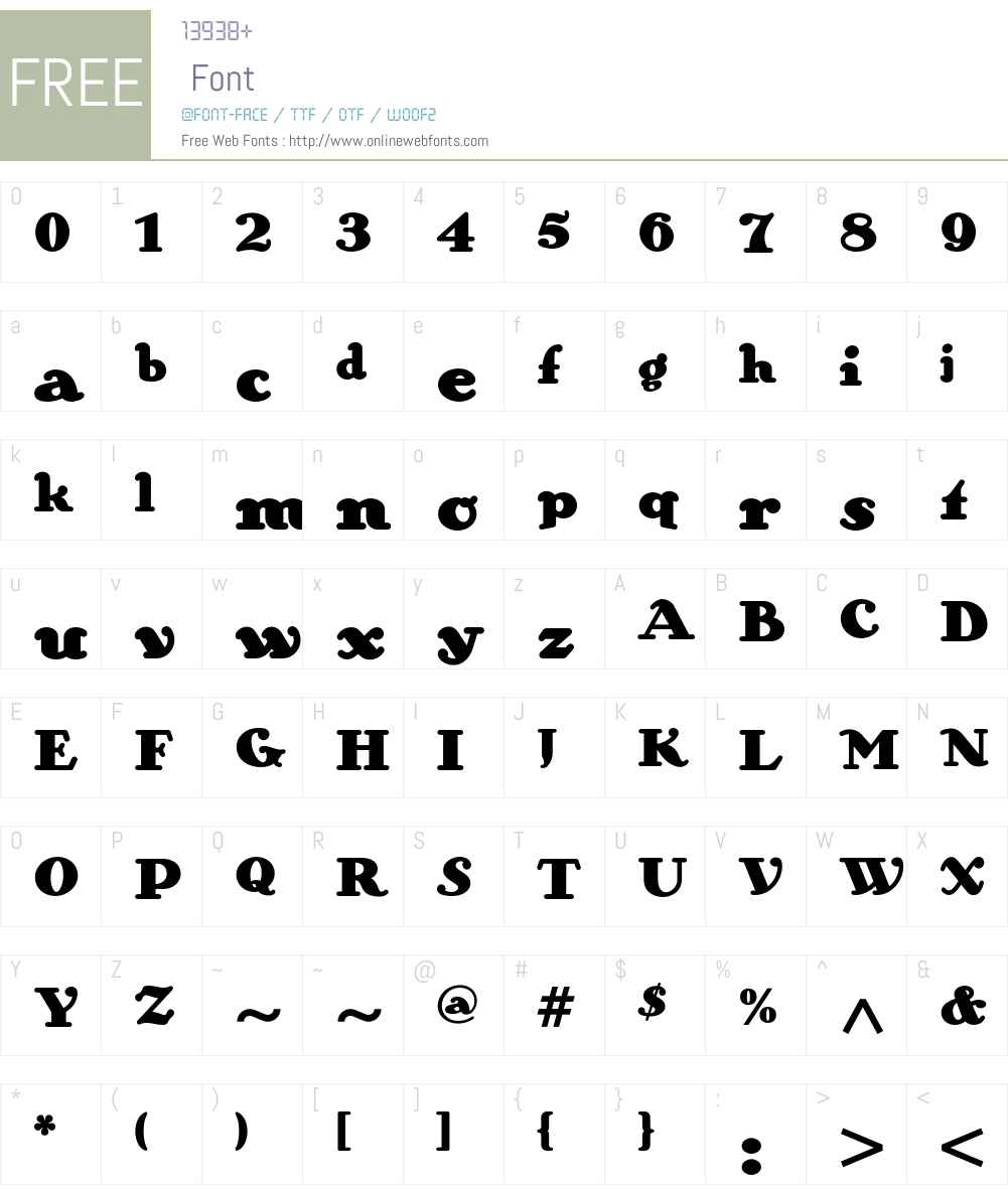 Zinzinnati ITC Std Font Screenshots