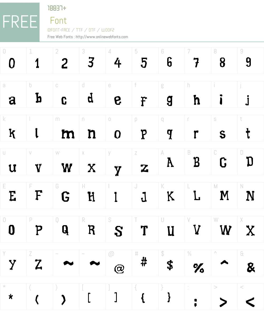 Xilo Galdino Font Screenshots