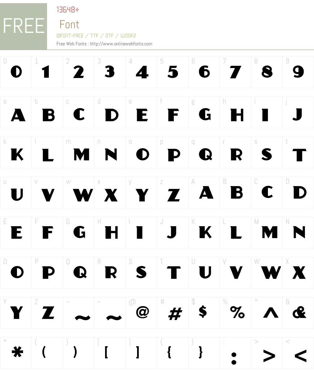Juanita ITC Std Font Screenshots