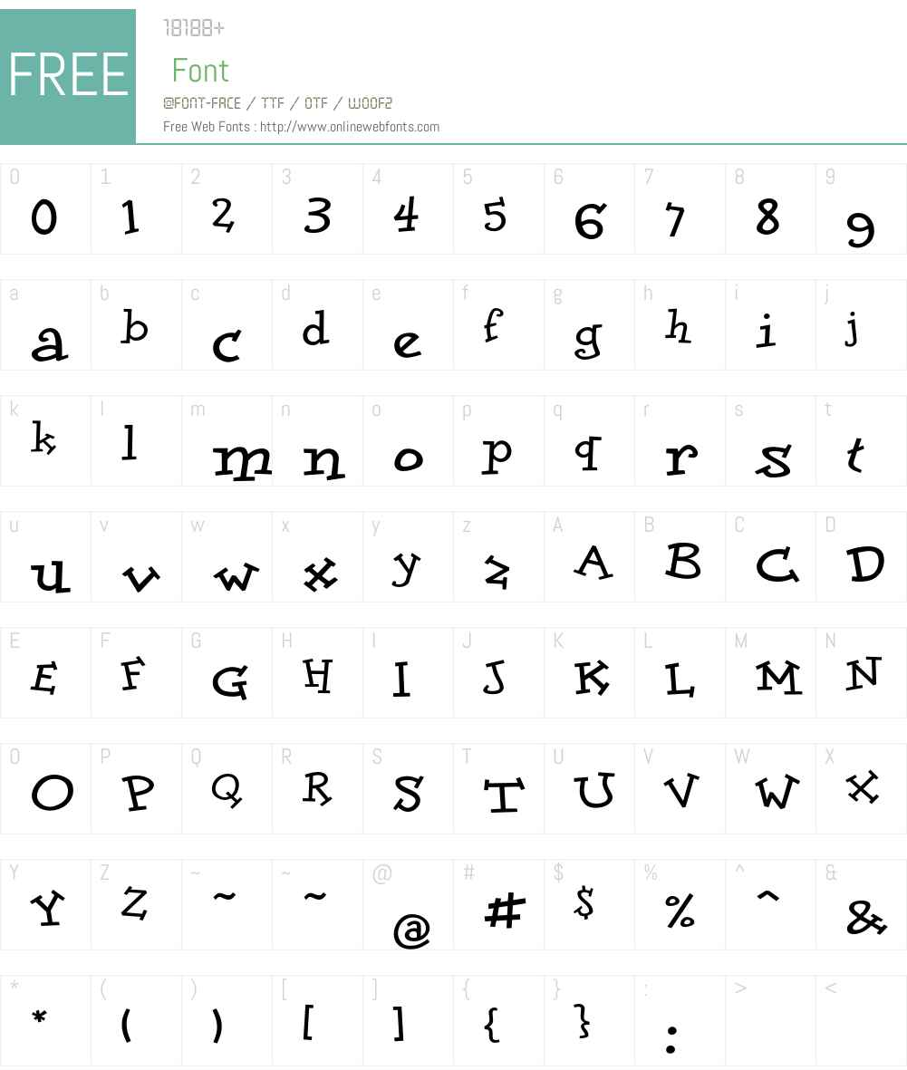 DoloresBold Font Screenshots