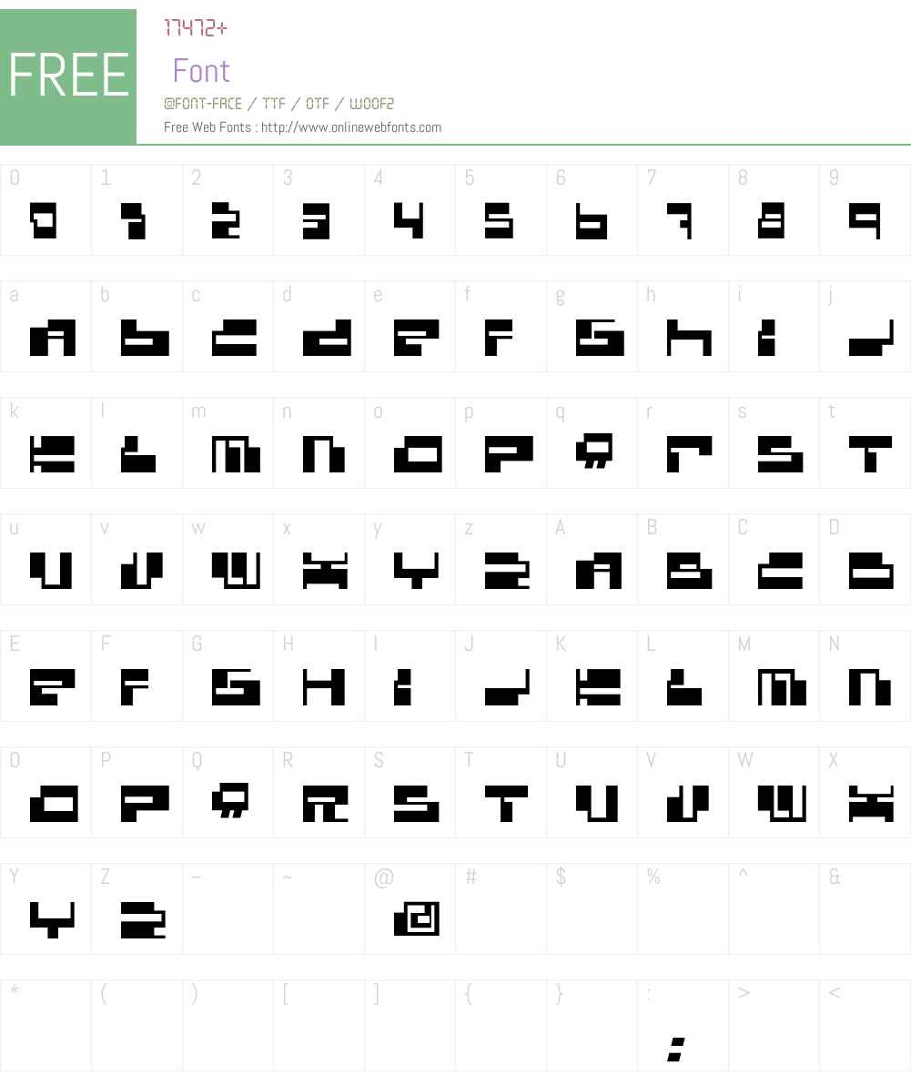 Console Font Screenshots