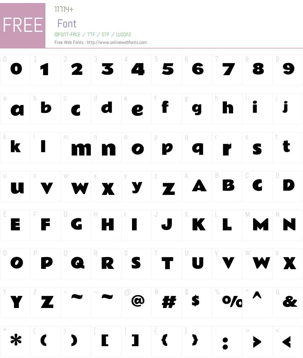 Rammetto One Font Screenshots