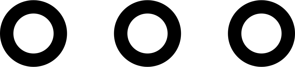More Button Of Three Circles