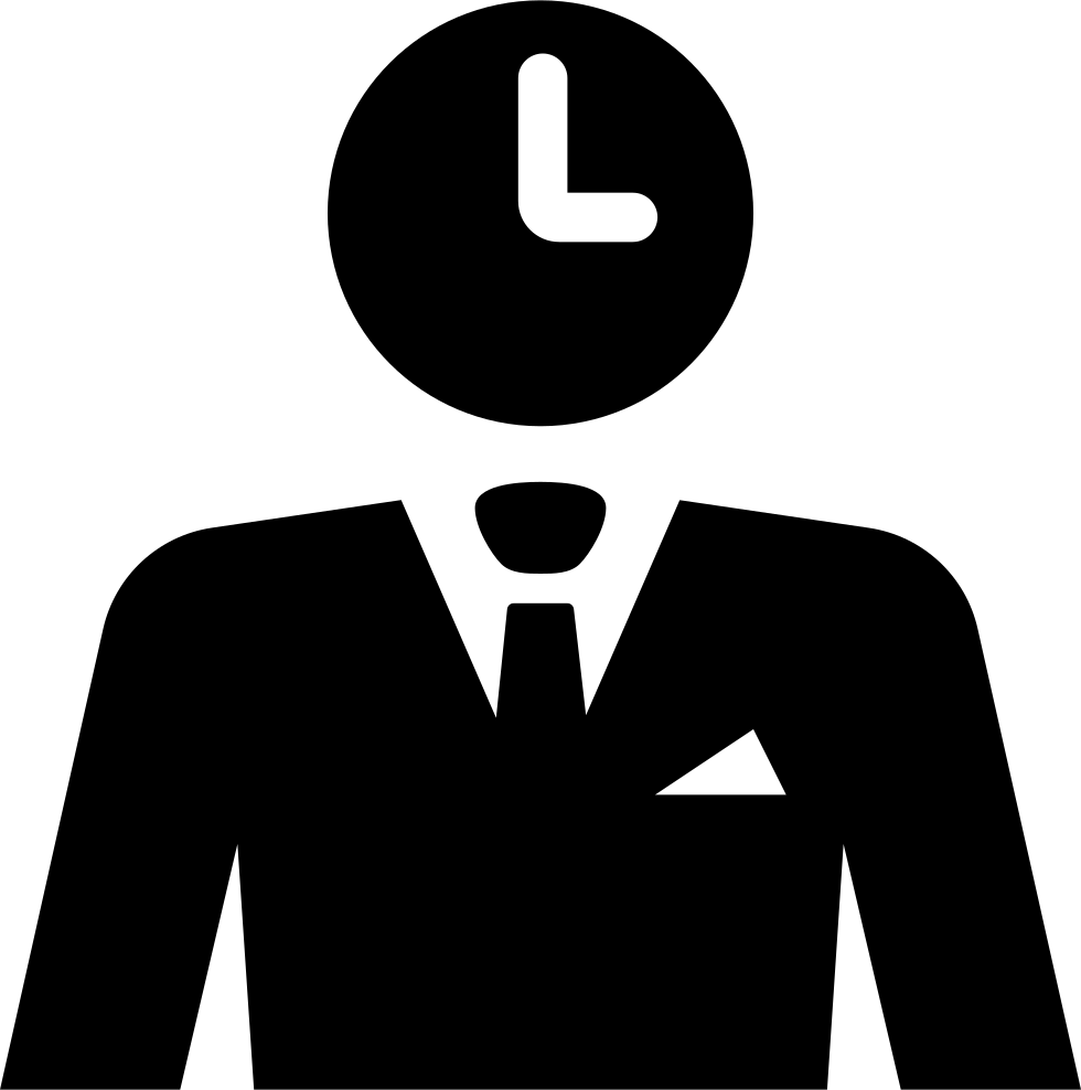 Businessman Thinking About Time