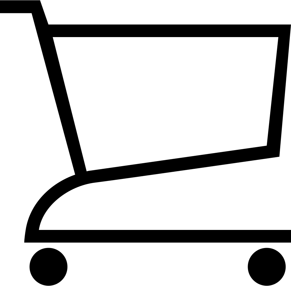 Ios Cart Outline