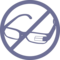 Google Glasses Prohibition Signal
