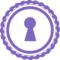 Keyhole In A Circular Shape