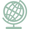 Earth Globe With Grid