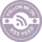 Follow Me On RSS Feed Badge