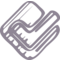 Foursquare Sketched Logo Outline