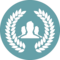 User Group Button With Wreath
