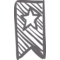 Bookmark Sketch With A Star