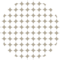 Circle With Rhombs Pattern
